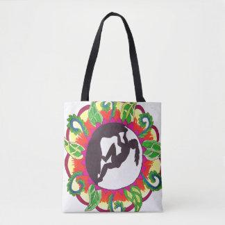 Klettern-Zen-Mädchen Tasche
