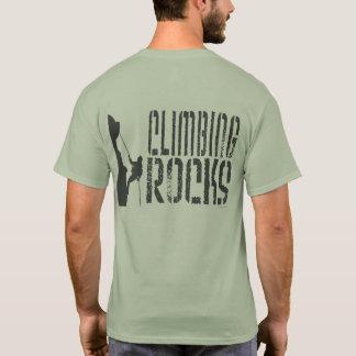 Kletternde Felsen T-Shirt