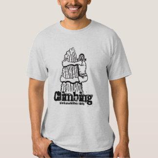 Kletternder lustiger T - Shirt