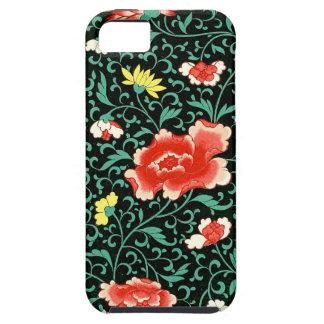 Kletterndes Rosen-Muster iPhone 5 Hülle