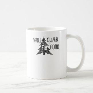 Klettert Tannen-Nahrung Kaffeetasse