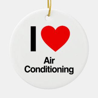 Klimaanlage der Liebe I Keramik Ornament