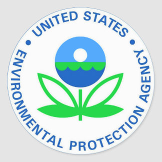 KlimaSchutzorganisation EPA Runder Aufkleber