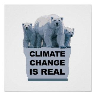 Klimawandel ist wirklich poster