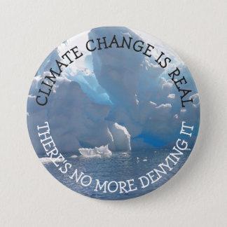 Klimawandel ist wirklicher Knopf Runder Button 7,6 Cm