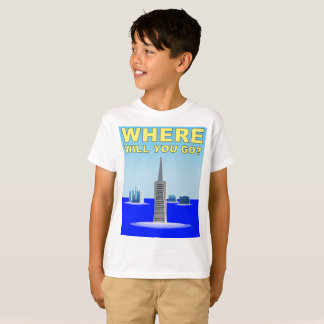 Klimawandel: San Francisco Unterwasser T-Shirt
