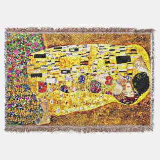 Klimt - der Kuss Decke