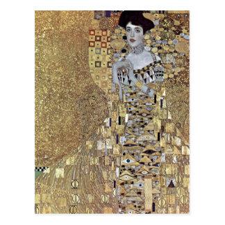 Klimt, Gustav Portr? t der Adele Bloch-Bauer 1907 Postkarte