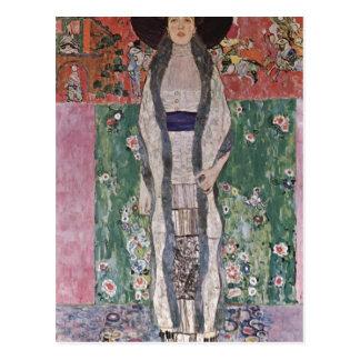 Klimt, Gustav Portr? t der Adele Bloch-Bauer 1912 Postkarte