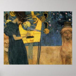 Klimt - Musik Poster