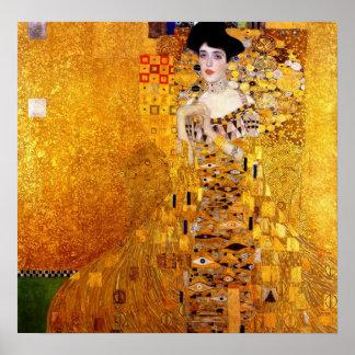 Klimt Porträt von Plakat Adele Bloch-Bauer