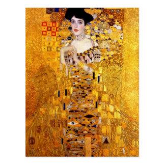 Klimt Porträt von Postkarte Adele Bloch-Bauer I