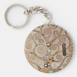 Klimt - Stocletfries Schlüsselanhänger