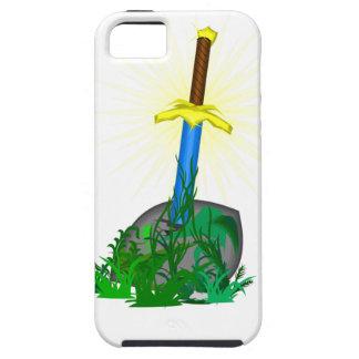 Klinge im Stein iPhone 5 Cover
