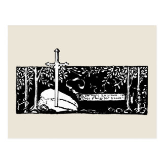 Klinge im Stein Postkarte