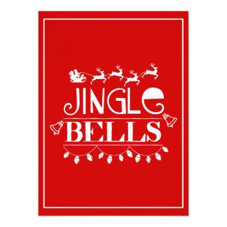 Klingel-Bell-Weihnachten Karte