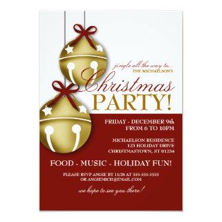 Klingel-Bell-WeihnachtsParty Einladung