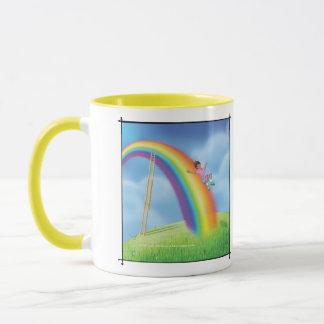Klingel-Klingel wenig Gnome-Regenbogen-Dia-Tasse Tasse