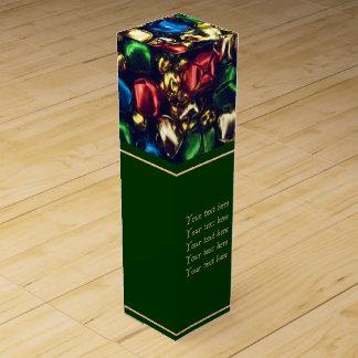 Klingel-vollständig Mehrfarbenbell-Wein-Geschenkbo Flaschen Geschenkverpackung