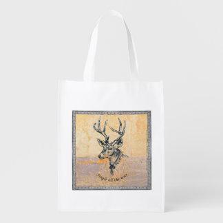 Klingel-vollständig - Weihnachtswiederverwendbare Wiederverwendbare Einkaufstasche