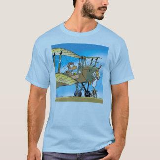 Klingeln-Ente bereiten sich für Start-T - Shirt