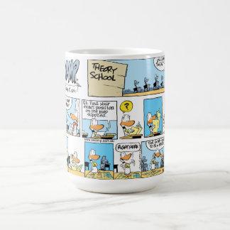 Klingeln-Enten-Luftfahrt-Navigations-Cartoon-Tasse Kaffeetasse