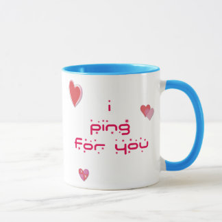 Klingeln für Sie Klingeln Pong Tasse