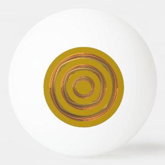 Klingeln-Klingeln-Ball - Gold mit RoughGold Ping-Pong Ball