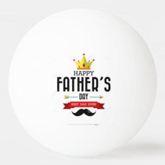 Klingeln Pong Ball, der glücklichen Vatertag Ping-Pong Ball