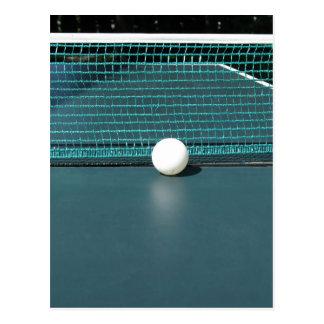 Klingeln Pong Ball Postkarte