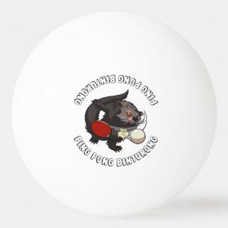 Klingeln Pong Binturong Tischtennis-SpielerBearcat Ping-Pong Ball