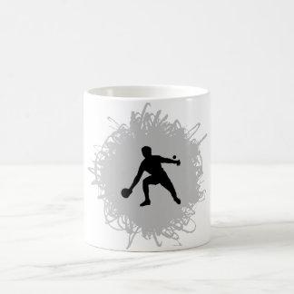 Klingeln Pong Gekritzel-Art Kaffeetasse