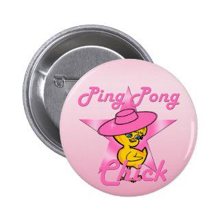 Klingeln Pong Küken #8 Runder Button 5,7 Cm
