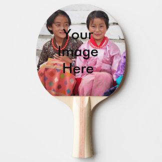 Klingeln Pong Paddel Tischtennis Schläger