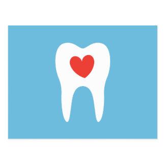 Klinik-Verabredungs-Erinnerung des Zahnarztes Postkarte