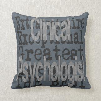 Klinischer Psychologe Extraordinaire Kissen