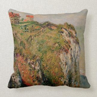 Klippe Claude Monets | bei Dieppe, 1882 Kissen