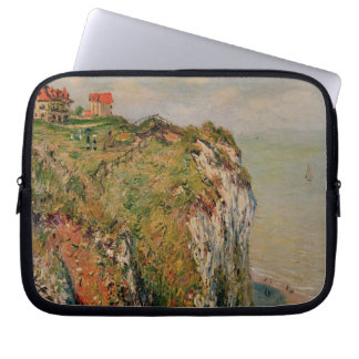 Klippe Claude Monets | bei Dieppe, 1882 Laptop Sleeve