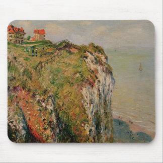 Klippe Claude Monets   bei Dieppe, 1882 Mousepad