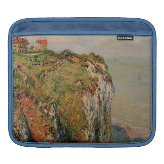 Klippe Claude Monets | bei Dieppe, 1882 Sleeve Für iPads