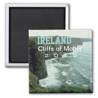 Klippen-Andenken-Magnet-Änderungs-Jahr Irlands Quadratischer Magnet