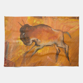 Klippen-Bewohner-Büffel Geschirrtuch