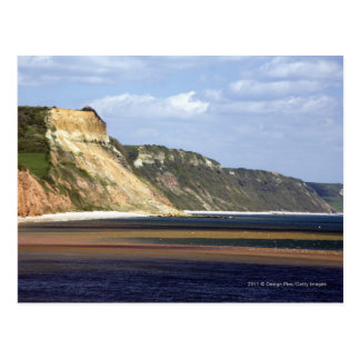 Klippen entlang Juraküste Postkarte