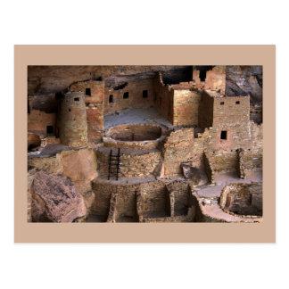 Klippen-Palast, Nationalpark MESAs Verde, Colorado Postkarte