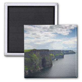 Klippen von Moher in Irland-Magneten Quadratischer Magnet