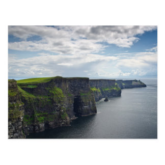 Klippen von Moher in Irland-Postkarte Postkarte