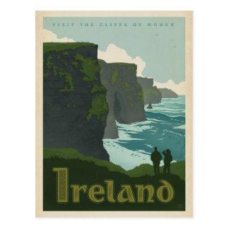 Klippen von Moher   Irland Postkarte