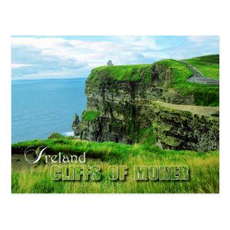 Klippen von Moher, Landkreis Clare, Irland Postkarte