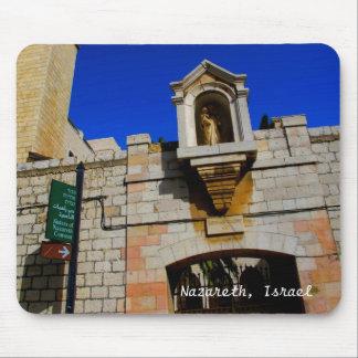 Kloster in Nazaret, Israel Mousepad