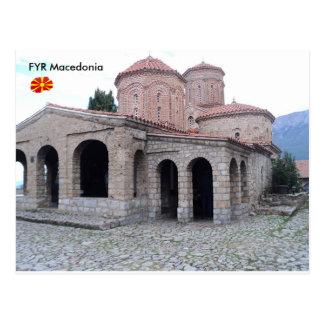 Kloster von St. Naum, FYR Macedonia Postkarte